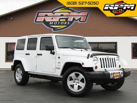 2012 Jeep Wrangler Unlimited for sale in New Glarus, WI