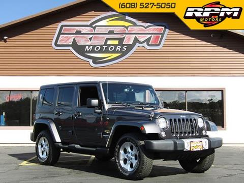 2014 Jeep Wrangler Unlimited for sale in New Glarus, WI