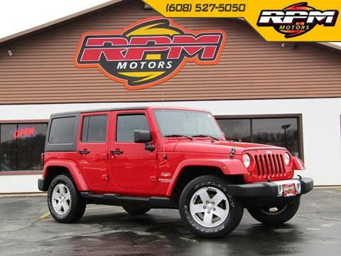 2011 Jeep Wrangler Unlimited for sale in New Glarus, WI