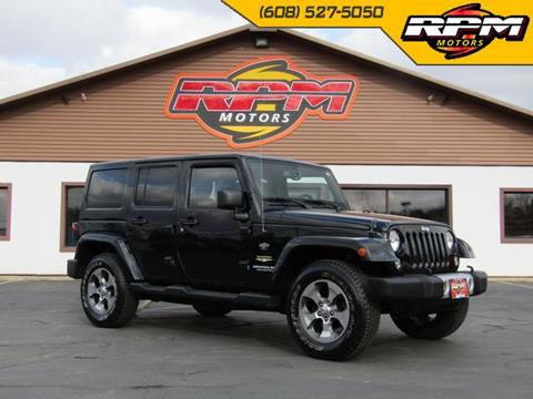 2015 Jeep Wrangler Unlimited for sale in New Glarus, WI