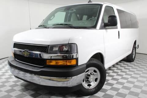 2019 Chevrolet Express Passenger LT 2500 for sale at Hurst Autoplex Mitsubishi in Hurst TX