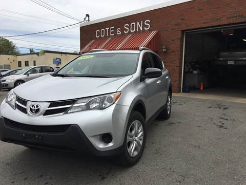 2015 Toyota RAV4 for sale at Cote & Sons Automotive Ctr in Lawrence MA