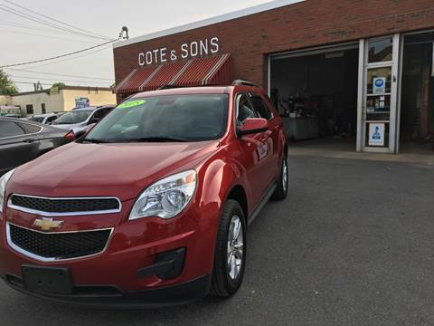 2015 Chevrolet Equinox for sale at Cote & Sons Automotive Ctr in Lawrence MA