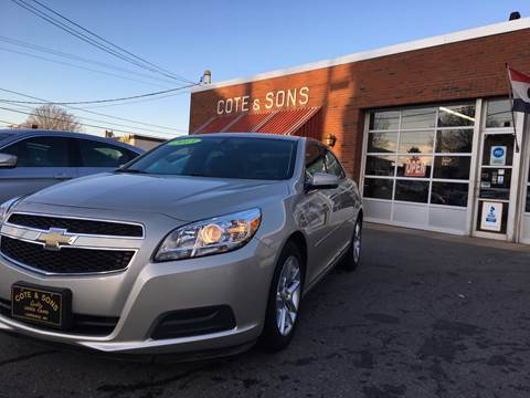 2013 Chevrolet Malibu for sale at Cote & Sons Automotive Ctr in Lawrence MA