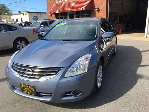 2011 Nissan Altima for sale at Cote & Sons Automotive Ctr in Lawrence MA