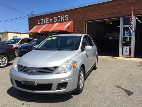 2007 Nissan Versa for sale at Cote & Sons Automotive Ctr in Lawrence MA