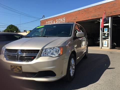 2014 Dodge Grand Caravan for sale at Cote & Sons Automotive Ctr in Lawrence MA