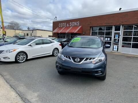 2011 Nissan Murano for sale at Cote & Sons Automotive Ctr in Lawrence MA