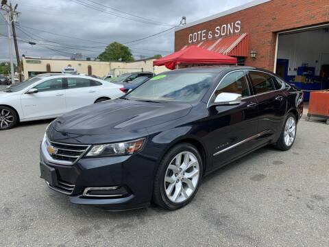 2014 Chevrolet Impala for sale at Cote & Sons Automotive Ctr in Lawrence MA