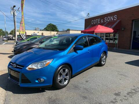 2012 Ford Focus for sale at Cote & Sons Automotive Ctr in Lawrence MA