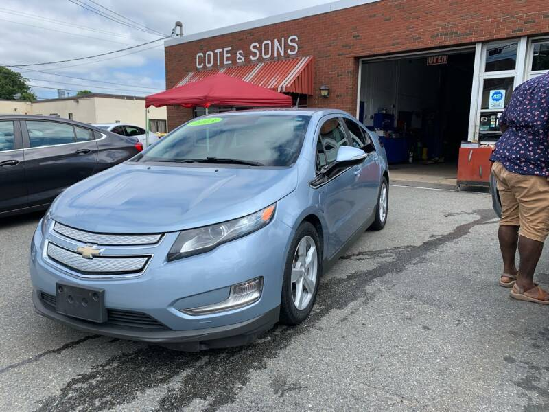 2013 Chevrolet Volt for sale at Cote & Sons Automotive Ctr in Lawrence MA