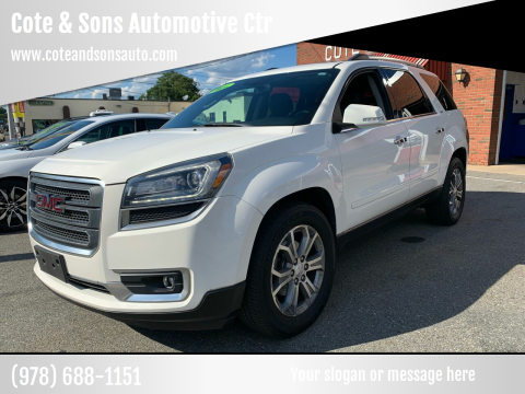 2014 GMC Acadia for sale at Cote & Sons Automotive Ctr in Lawrence MA