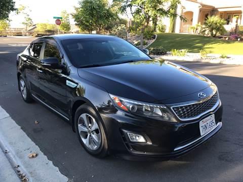 2014 Kia Optima Hybrid for sale at MSR Auto Inc in San Diego CA