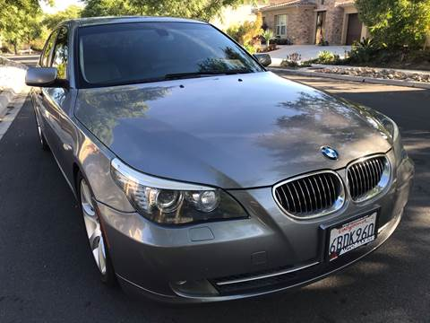 2008 BMW 5 Series for sale at MSR Auto Inc in San Diego CA