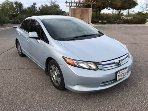 2012 Honda Civic for sale at MSR Auto Inc in San Diego CA