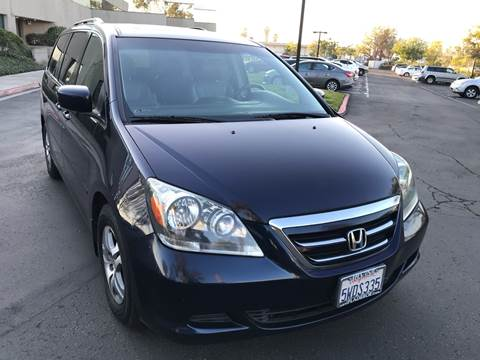 2006 Honda Odyssey for sale at MSR Auto Inc in San Diego CA