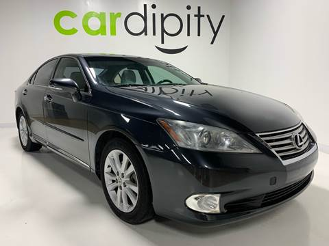 2011 Lexus ES 350 for sale at Cardipity in Dallas TX