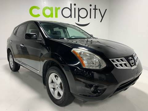 2013 Nissan Rogue S for sale at Cardipity in Dallas TX