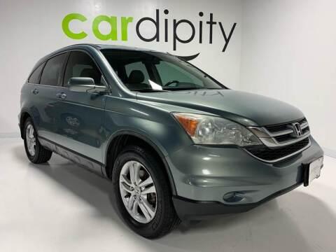 2010 Honda CR-V EX-L for sale at Cardipity in Dallas TX