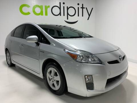 2010 Toyota Prius IV for sale at Cardipity in Dallas TX