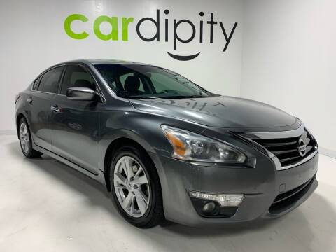 2015 Nissan Altima 2.5 SV for sale at Cardipity in Dallas TX