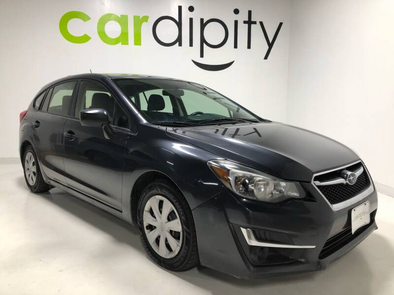 2015 Subaru Impreza for sale at Cardipity in Dallas TX