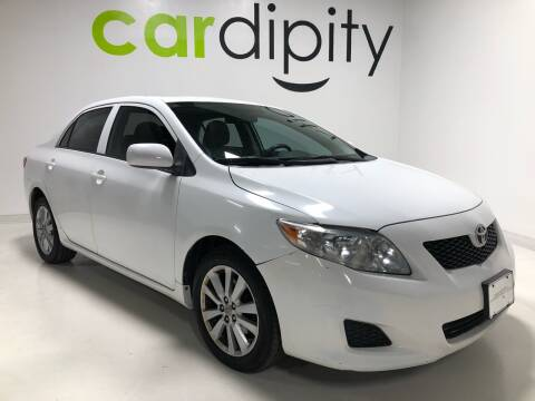 2010 Toyota Corolla for sale at Cardipity in Dallas TX