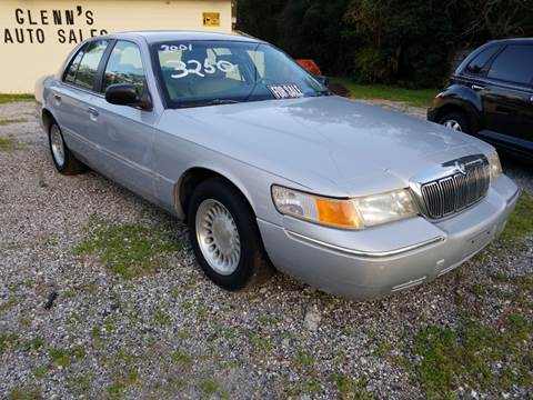mercury grand marquis for sale in umatilla fl glenn s auto sales service mercury grand marquis for sale in