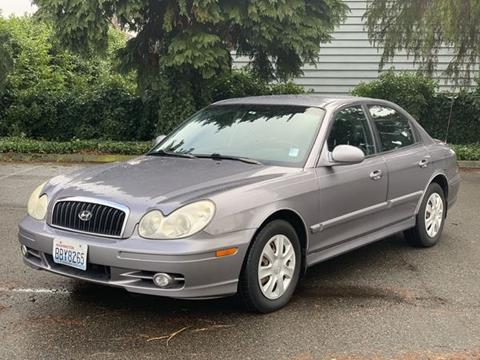 2005 Hyundai Sonata for sale at Q Motors in Lakewood WA