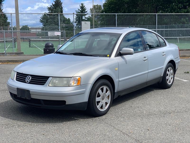 1999 Volkswagen Passat for sale at Q Motors in Lakewood WA