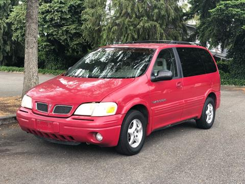 1997 Pontiac Trans Sport for sale at Q Motors in Lakewood WA