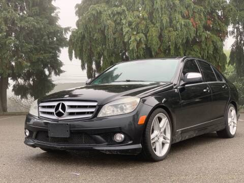 2009 Mercedes-Benz C-Class C 350 Sport for sale at Q Motors in Lakewood WA