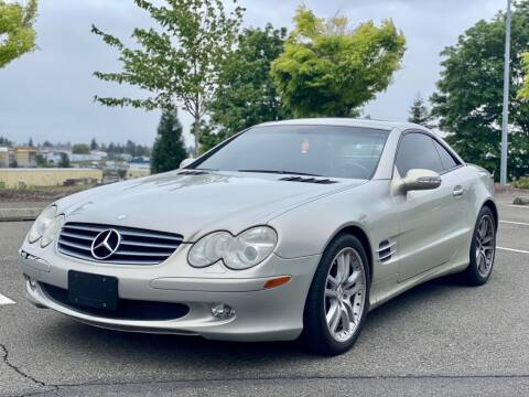 2003 Mercedes-Benz SL-Class for sale at Q Motors in Lakewood WA