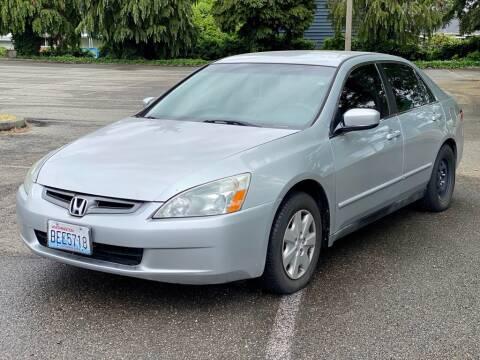 2004 Honda Accord for sale at Q Motors in Lakewood WA