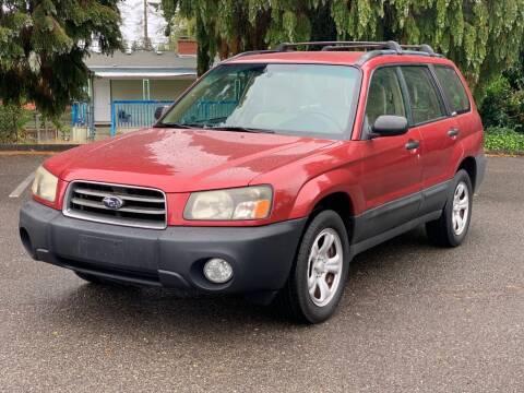 2003 Subaru Forester for sale at Q Motors in Lakewood WA