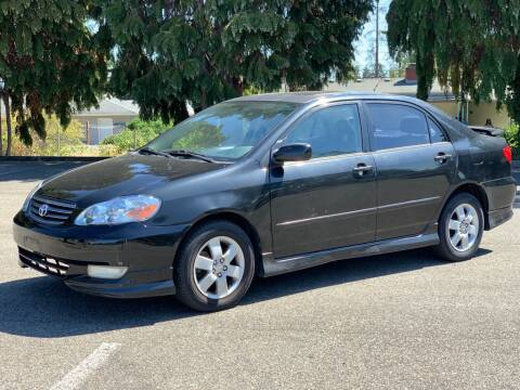 2003 Toyota Corolla for sale at Q Motors in Lakewood WA