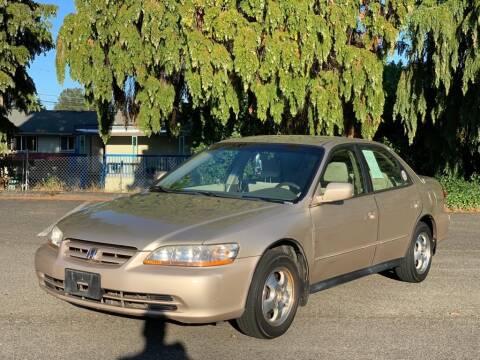 2001 Honda Accord for sale at Q Motors in Lakewood WA