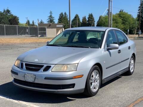 2005 Saab 9-3 for sale at Q Motors in Lakewood WA