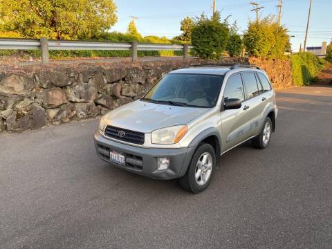 2001 Toyota RAV4 for sale at Q Motors in Lakewood WA