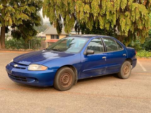 2004 Chevrolet Cavalier for sale at Q Motors in Lakewood WA
