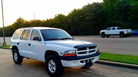 2000 Dodge Durango for sale at Loco Motors in La Porte TX