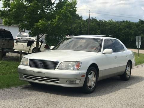 Aktualne Used Lexus LS 400 For Sale in Texas - Carsforsale.com® DA43