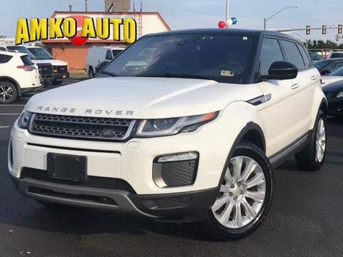 2017 Land Rover Range Rover Evoque for sale in Manassas, VA