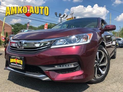 2016 Honda Accord for sale in Manassas, VA