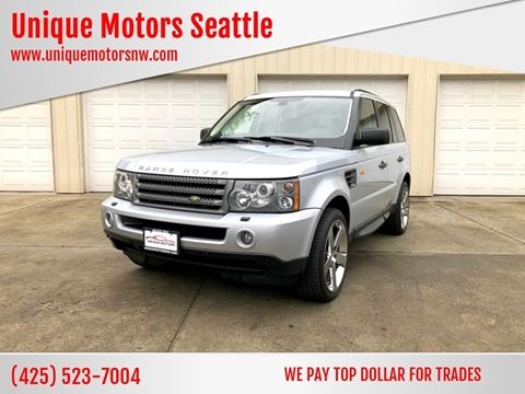 2007 Land Rover Range Rover Sport for sale at Unique Motors Seattle in Bellevue WA
