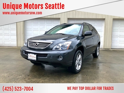 2008 Lexus RX 400h for sale at Unique Motors Seattle in Bellevue WA