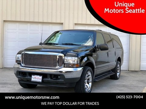 2003 Ford Excursion for sale at Unique Motors Seattle in Bellevue WA