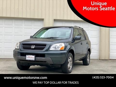 Honda For Sale in Bellevue, WA - Unique Motors Seattle