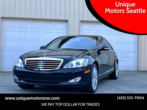 2008 Mercedes-Benz S-Class for sale at Unique Motors Seattle in Bellevue WA