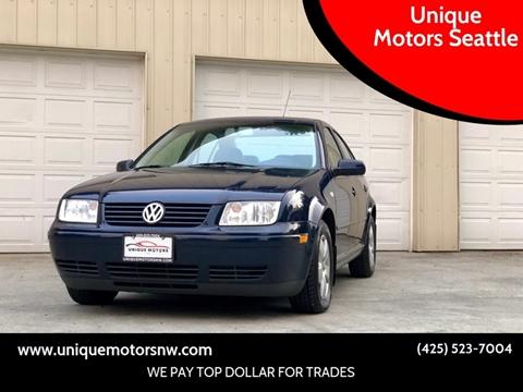 2003 Volkswagen Jetta for sale in Bellevue, WA